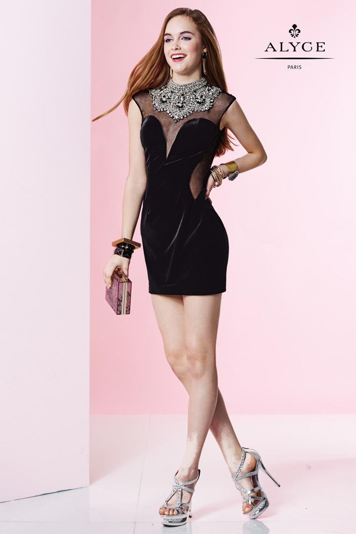 Alyce Paris Homecoming - 4419 Dress In Black
