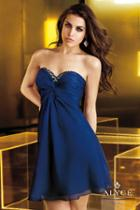 Alyce Paris Homecoming - 4332 Dress In Navy