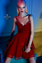 Alyce Paris Homecoming - 4414 Dress In Claret