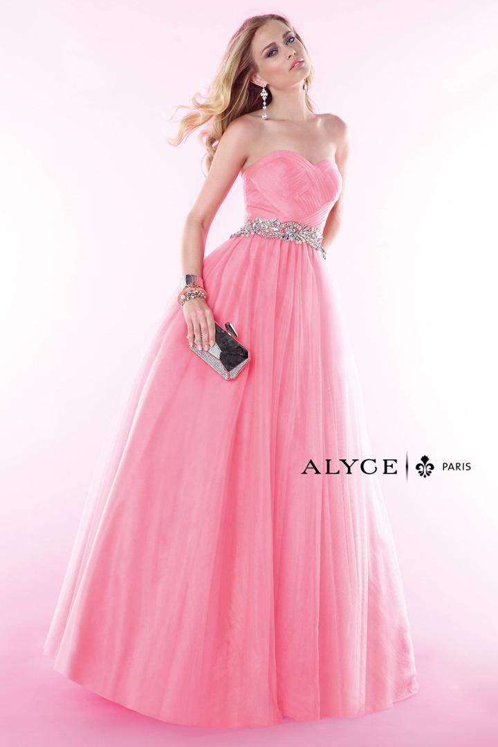 Alyce Paris - 6388 Dress In New Coral