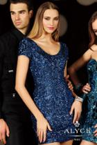 Alyce Paris Homecoming - 4397 Dress In Sapphire