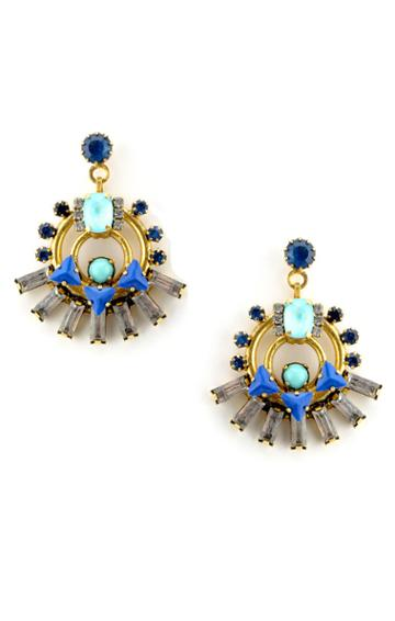 Elizabeth Cole Jewelry - Talia Earrings Style 1