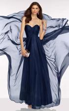 Alyce Paris B'dazzle - 35779 Strapless Sweetheart Cutout Back Gown