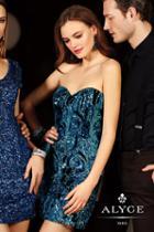 Alyce Paris Homecoming - 4396 Dress In Jade