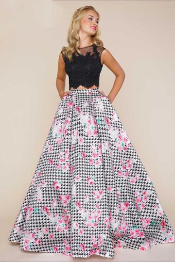 Mac Duggal - 65846h Ball Gowns Style