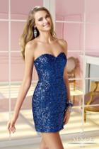 Alyce Paris Homecoming - 4369 Dress In Sapphire