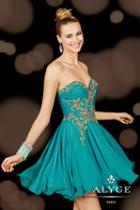 Alyce Paris Homecoming - 3625 Dress In Mint