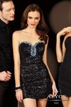 Alyce Paris Homecoming - 4393 Dress In Black