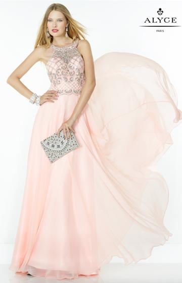 Alyce Paris - 1067 Dress In Blush