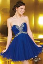 Alyce Paris Homecoming - 3568 Dress In Royal