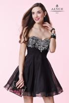 Alyce Paris Homecoming - 3658 Dress In Black