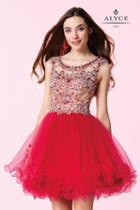 Alyce Paris Homecoming - 3677 Dress In Red