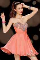 Alyce Paris Homecoming - 3597 Dress In Coral