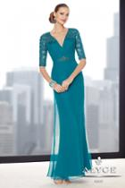 Alyce Paris Mother Of The Bride - 29711 Dress In Teal