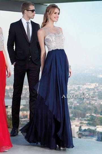 Alyce Paris - 6342 Dress In Navy