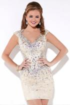 Tiffany Homecoming - Sparkling Lace Cocktail Dress 27895