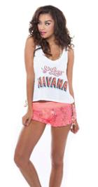 Nicolita Swimwear - I Love Havana Tank Top