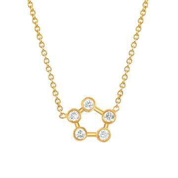 Logan Hollowell - New! Circle Constellation Diamond Necklace