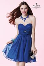 Alyce Paris Homecoming - 3675 Dress In Sapphire