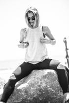 Joah Brown - Cut Loose Leggings In Black
