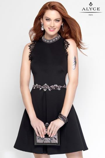 Alyce Paris - 4456 Dress In Black