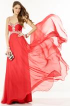 Alyce Paris - 1121 Dress In Red