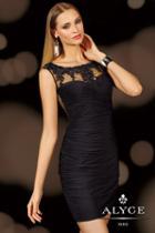 Alyce Paris Homecoming - 4379 Dress In Black