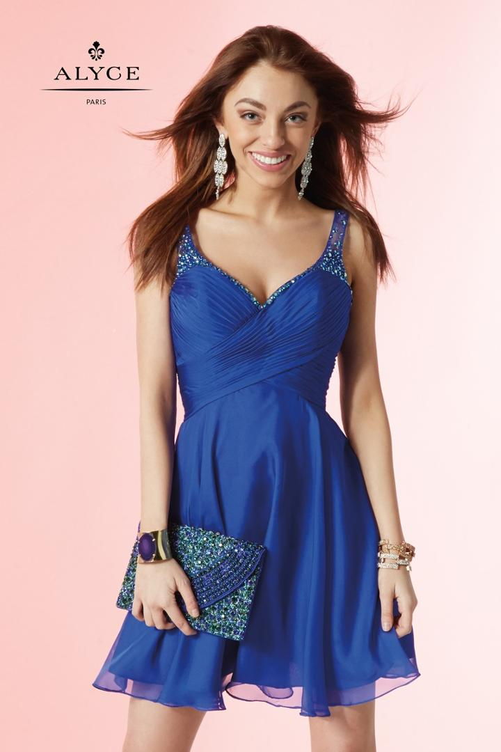 Alyce Paris Homecoming - 4414 Dress In Sapphire