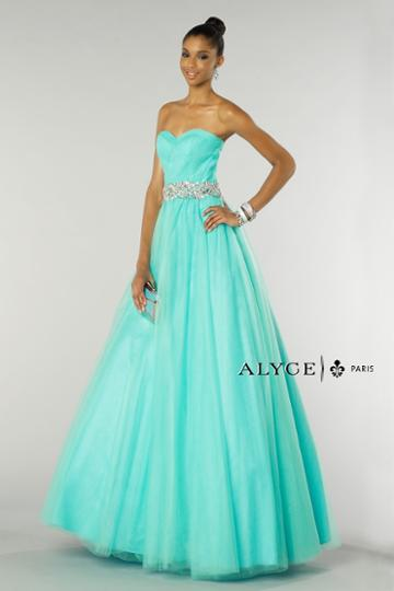Alyce Paris - 6388 Dress In Mint