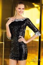 Alyce Paris Homecoming - 4345 Dress In Black