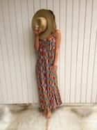 Tysa - Eagle Dress In Serape Caliente
