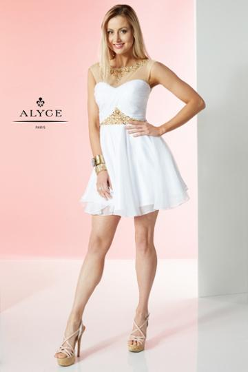 Alyce Paris - 1065 Dress In White