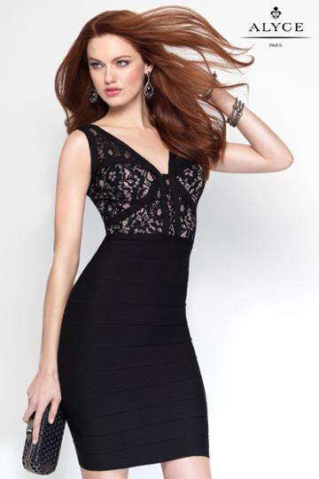 Alyce Paris - 4454 Dress In Black