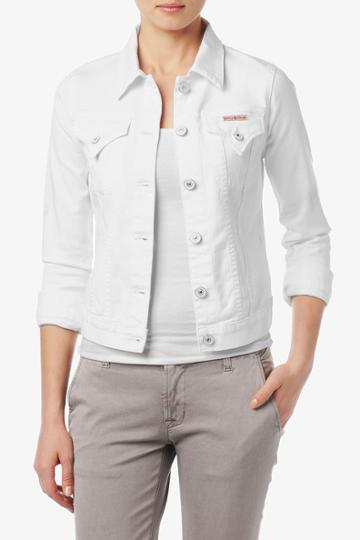 Hudson Jeans - W702dlw Signature Jean Jacket In White