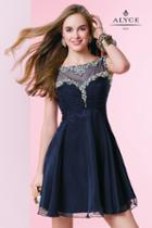 Alyce Paris Homecoming - 3665 Dress In Midnight