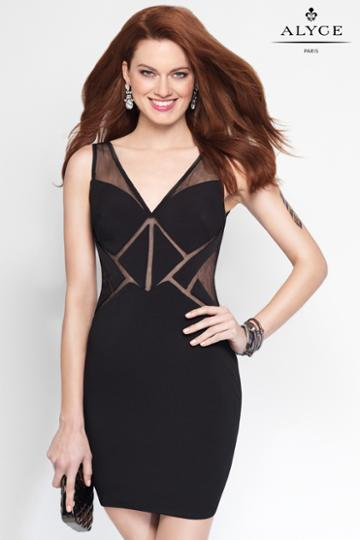 Alyce Paris - 4451 Dress In Black