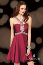 Alyce Paris Homecoming - 4409 Dress In Wine