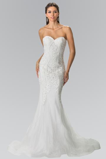 Elizabeth K - Gl2264 Bead Embellished Sweetheart Mermaid Wedding Dress