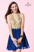 Alyce Paris Homecoming - 3646 Dress In Cobalt