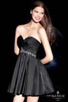 Alyce Paris Homecoming - 4250 Dress In Black