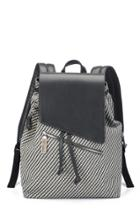 August Handbags - The Denali In Graphite Woven