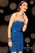 Alyce Paris Homecoming - 4398 Dress In Royal