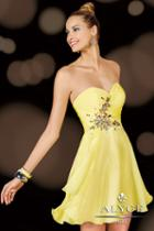 Alyce Paris Homecoming - 3632 Dress In Yellow