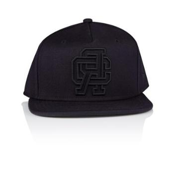 Creative Recreation Campus Snapback Hat Black