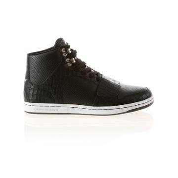 Creative Recreation Cesario Black Croc Perf