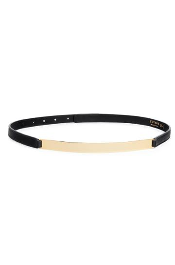 Cuyana Gold Bar Belt