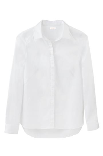 Cuyana Poplin Pleat-back Shirt