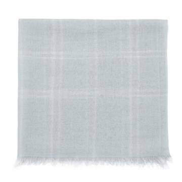 Cuyana Lightweight Windowpane Scarf