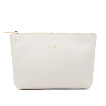 Slim Soft Leather Pouch (garance X Cuyana)