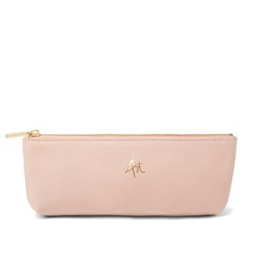 Slim Pencil Leather Pouch (garance X Cuyana)
